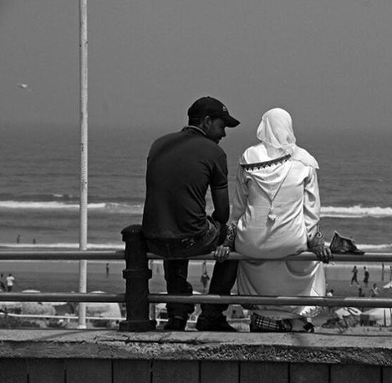 Two youngs Blackandwhite People Morocco Streetphotography Lifestyle Casablanca B_w Traveling Streetphoto Sea Young Pictureoftheday Streetstyle Photooftheday EyeEm Diversity The Street Photographer - 2017 EyeEm Awards Modern Love