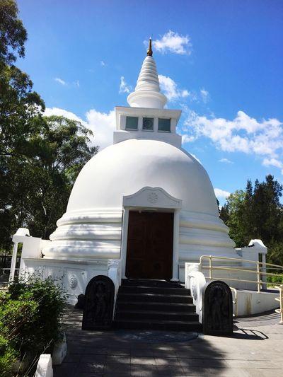 Calmness and blue sky Religion Built Structure Building Exterior First Eyeem Photo