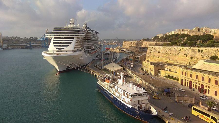 Cruise ship in