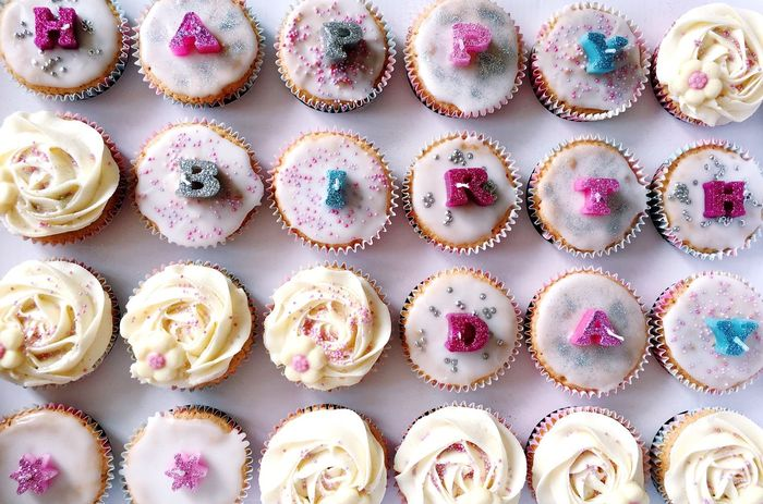 cakes for the sisters birthday Cakes Baking Icing Birthday Birthday Cake Happy Birthday! Glitter Things I Like Pastel Colors Pink Birthday Candles Food Porn Treats Light Pink Cream Glitter & Sparkle