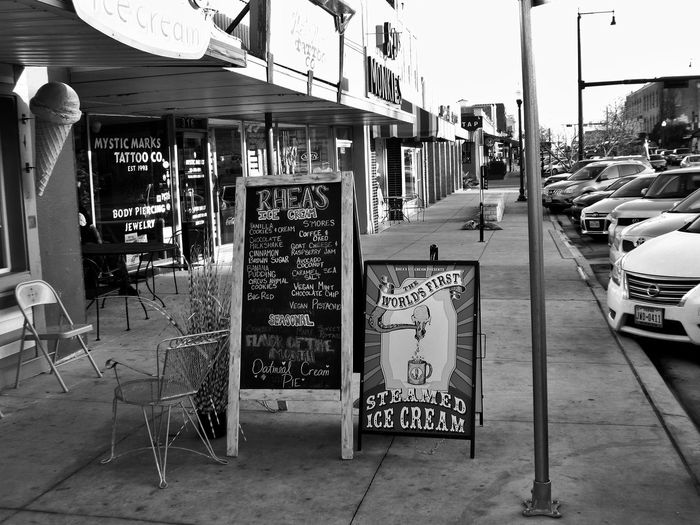 Street Advertising Advertising Photography Advertising Sign Advertising Signs Architecture Building Exterior Built Structure City Communication Day Local Business No People Outdoors Placard Small Town Life Street Scenes Text