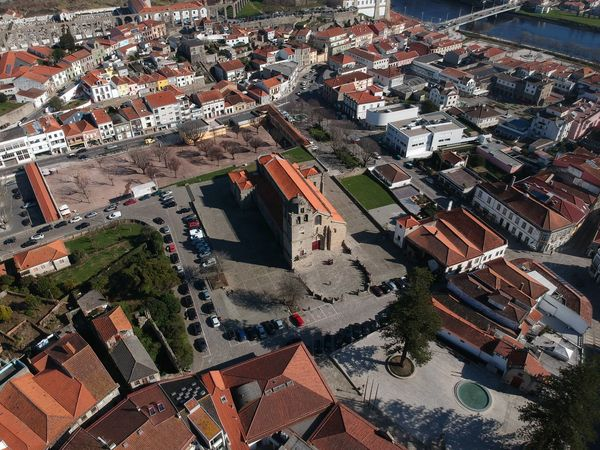 Igreja Matriz - Vila do Conde, Portugal DJI X Eyeem Aerial View Architecture Building Exterior Built Structure City Cityscape Community Day Dji Spark High Angle View House No People Outdoors Residential  Residential Building Residential District Roof Town Tree Vila Do Conde Water