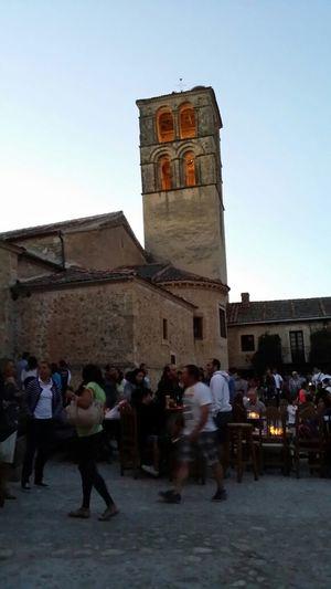 Taking Photos Enjoying Life Noche De Las Velas En Pedraza Architecture