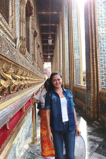 May 22, 2017 Thailand Bangkok Royal Grand Palace Emerald Buddha