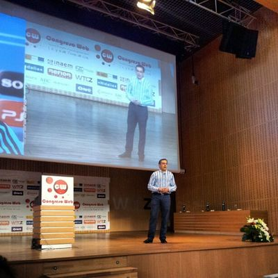 @miguellopezgo en Cw12 nos habla de medición de resultados en marketing Online Marketingcw Fotoscw