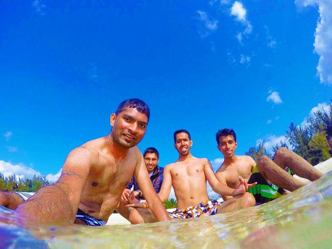 Liveeeeeeeeee Beach Gopro Friends Blue Fun Day Vacations Summer