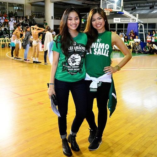 Stunner! ????? . . . Uaap77 Animorally Animorally2014 Animo dlsu greenarchers sports sendoff themanansala