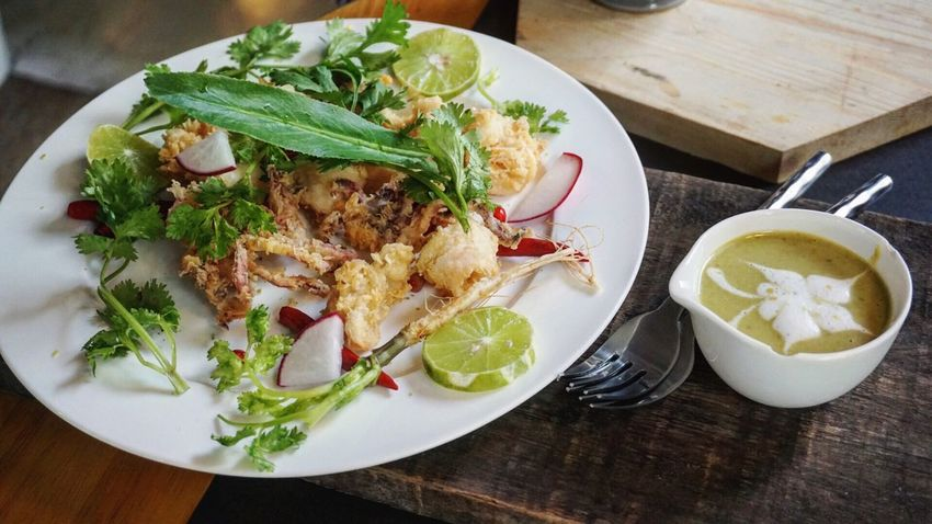 Calamari Eat Eating Good Eats Good Food Foodporn Foodphotography Sonya5100 Taking Photos Enjoying Life Bangkok Thailand. Thailand_allshots