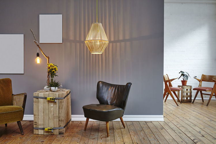Chair Day Floor Lamp Furniture Home Interior Home Showcase Interior Indoors  Modern No People Table