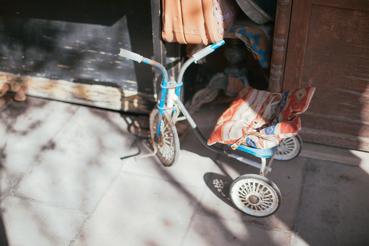 Close-up tricycle