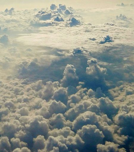 Kingdom in the clouds Water Sea Hot Spring Beach Cold Temperature Heaven Satellite View Meteorology Planet Earth Cumulonimbus Hurricane - Storm Satellite Sky Only