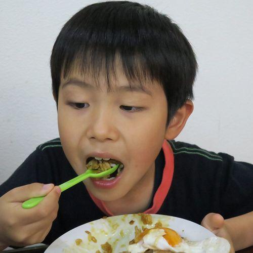 焼豚玉子飯うまい。 焼豚玉子飯 Chineserestaurant Food Eating Powershot G9 Ehime,Japan Son