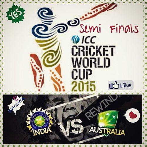 ICC CRICKET WORLD CUP 2015 Cricket IndvsAus