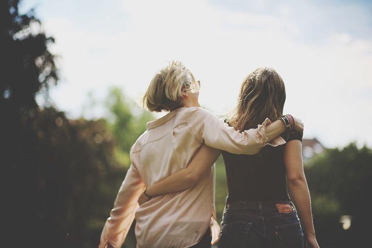 Collected Community Friendship Girl Women Summer Summer Views