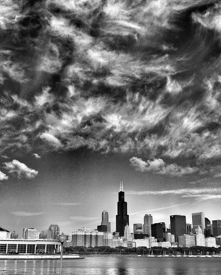 Chicago, Illinois Blackandwhite Black And White Black & White EyeEm Best Shots - Black + White NEM Black&white Black&white Editorial  Chicago Illinois Taking Photos Clouds Sheddaquarium Scenic Landscapes Chicago Chicago Skyline Black And White Photography Landscape_Collection Landscape_photography Landscapes Chicago Architecture Lakefront Cityscape Landmark America Scenics Landscape