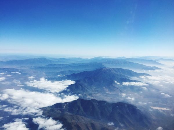 Mountains Blue Sky Clouds Clouds And Sky Plane View Plane Window Air Airplane Window Aerial Aerial View Aerial Shot High Angle View Finding New Frontiers