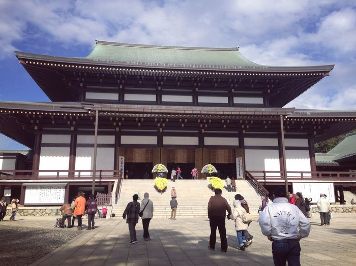 Grandpa Architecture Built Structure Real People Travel Destinations Religion Travel Tourism Building Exterior Men Japan Photography Japan Temple Marital Narita Women Spirituality Cultures Lifestyles Place Of Worship Walking Tourist Sky Day Visiting