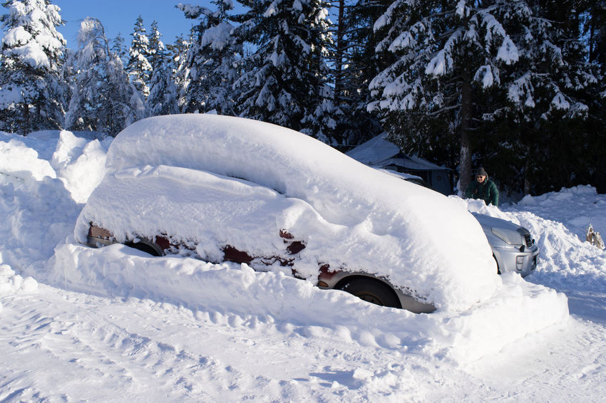 anyone lost their car? lol Norway Winter Beauty In Nature Cold Temperature Day Nature No People Outdoors Scenics Snow Snow Covered Car Tree White Color Winter Winter Wonderland