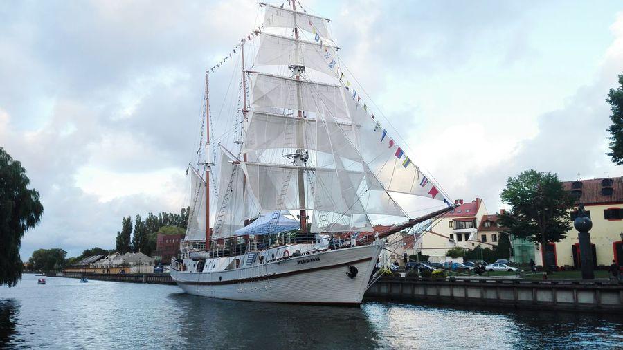 Water Ship Meridianas Ships⚓️⛵️🚢 Outdoors Cloud - Sky Day Lithuania