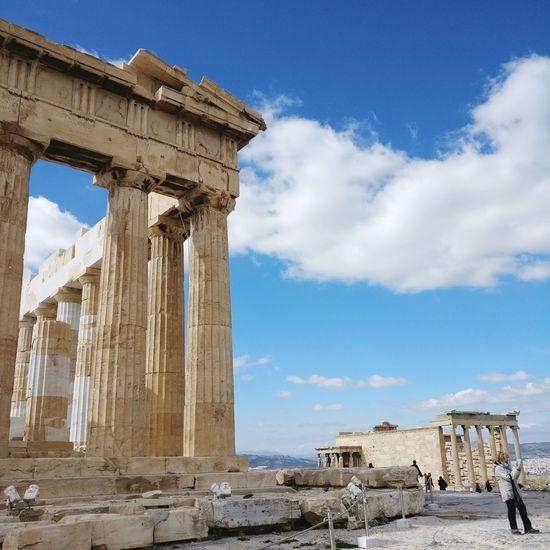 EyeEm Selects Old Ruin Ancient History Ancient Civilization Parthenon Acropolis Greece Parthenon Greece Mythology EyeEmNewHere