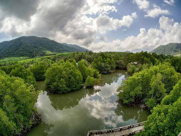 Koh Chang Thailand Wideangle Overview Panorama Fisheye