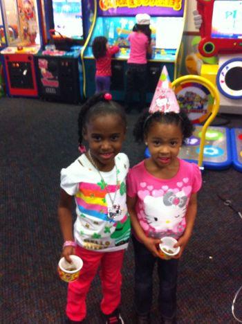 JaiLah & Kelsi enjoyed themselves.!