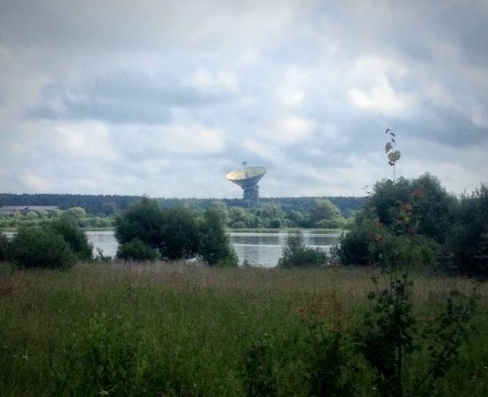 Russia Radio Antenna Radar River River Space Plant Tree Architecture Built Structure No People Land