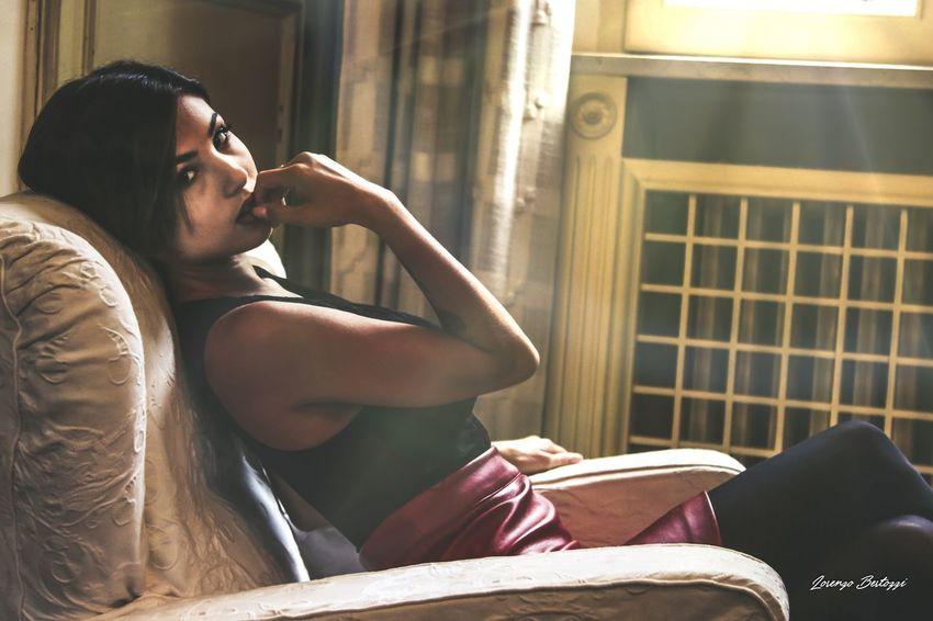 Indoors  Beautiful Woman Home Interior Beauty EyeEm Best Shots Light Model Dreaming