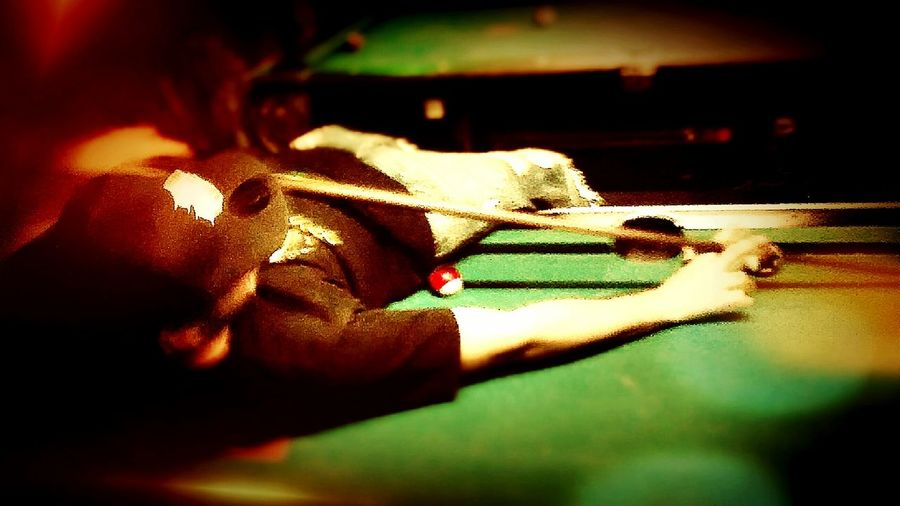 Pool king First Eyeem Photo Enjoying Life Playing Pool Nightlife Playing Billiard Pool Table Poolbar Night Out Nightphotography Night Life