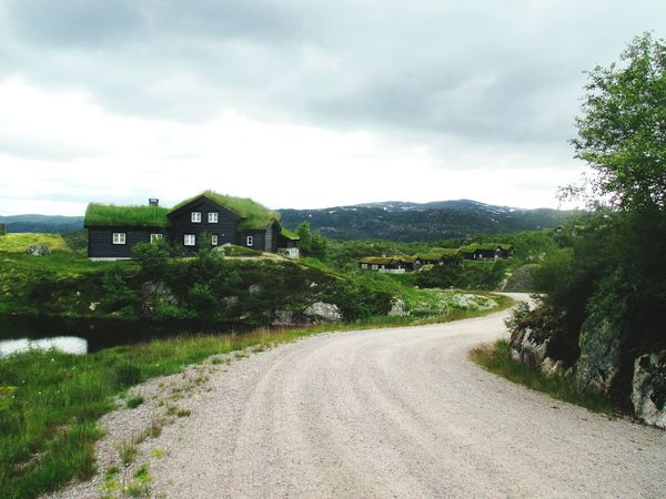 Landscape Hello World Exploring Outdoor Photography Wooden House The Way Forward Fernweh Cloudy Day Sky And Clouds Enjoying Life Norwegen Norway Travelling Littlethingsinlife