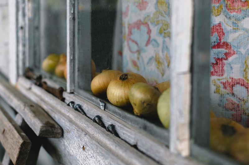 Onion behind