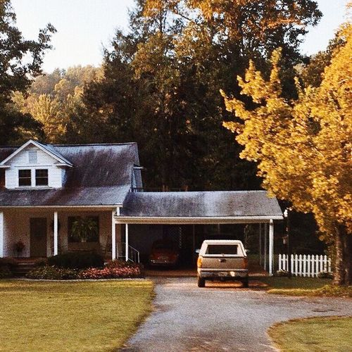 Tree Autumn Outdoors Building Exterior House Architecture No People
