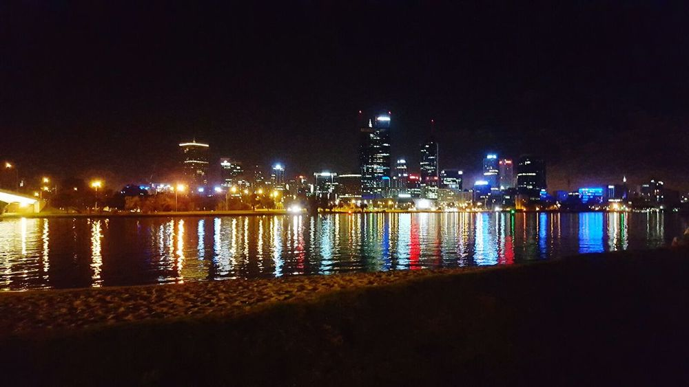 Perth Skyline Perth City Lights Perthlife about to go fishing 😆