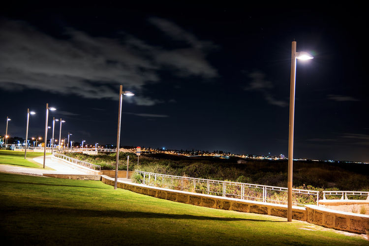 On the coast Night Playing Field Floodlight Floodlit Grass Illuminated Beach Front Taking Photos Enjoying Life Relaxing