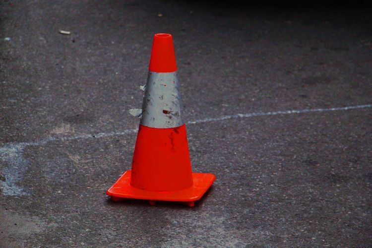 Traffic Cone No People Outdoors Day Close-up Throughmyeyes Canonphotography Traveling EyeEm Gallery Travel