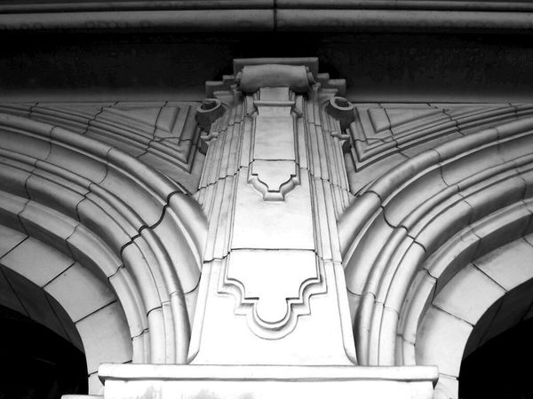 Taking Photos In The Details Black And White Architecture
