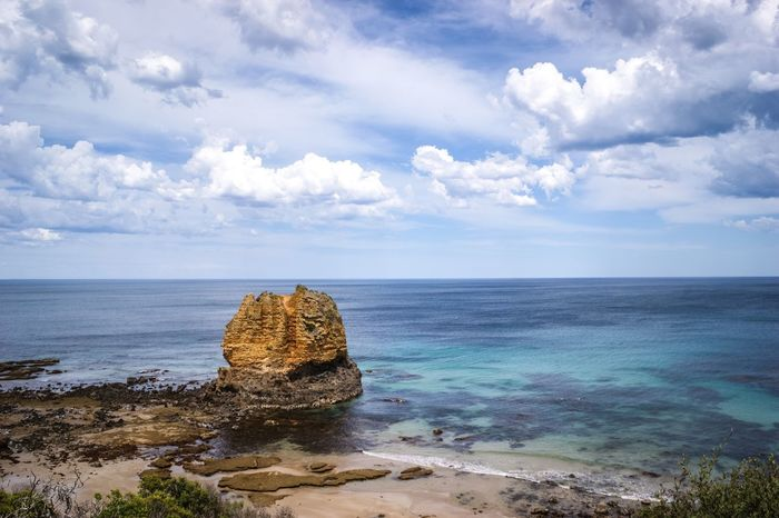 Seven Wonders 12 Apostles Rock Formation Geology Geological Formation Erosion Water Sea Cloud - Sky Outdoors Travel Destinations Nature Tranquil Scene Tranquility Beauty In Nature Sky Beach Blue Paradise