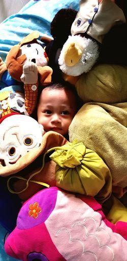 Find the cutest Stuffed Toy UnderSea Doll Clown Childhood Close-up Toy Animal Teddy Bear Toy