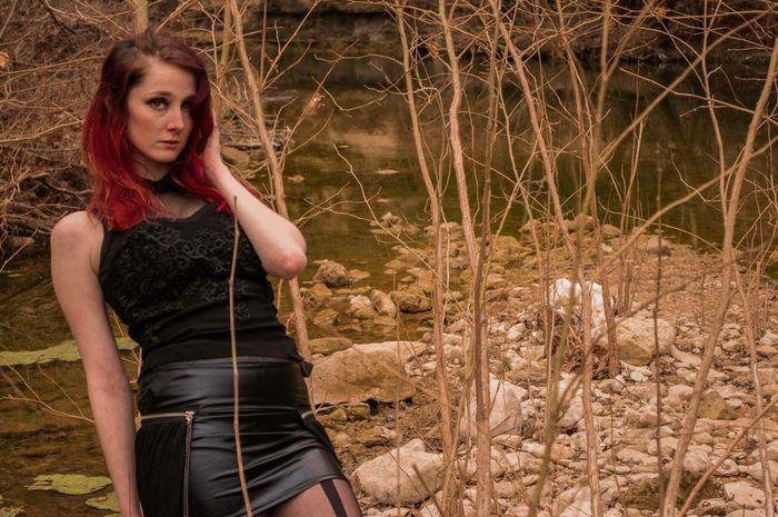 Photo 5 green belt shoot. Model: Viccy Lemmond Photography Texas Beautiful Girl Model Nature Photoshoot Austin Green Belt