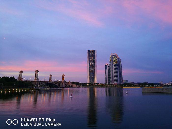 Huawei P9 Plus Huaweiphotography Huaweimobileapac Huaweimobilemy Sunset Putrajaya