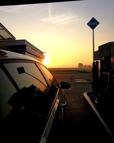 Auto Golf EyeEm Best Shots City Sunset Nautical Vessel Water Cityscape Boat Deck Sky Architecture Travel