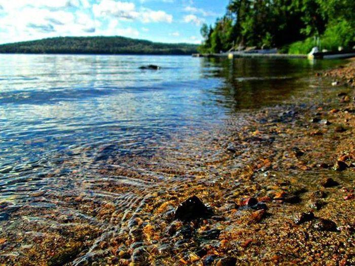 Water Lake Landscape Land Blue Bluesky Blueskys Blueskies Thatskytho Thatsky Cloudysky Cloudy Clouds Cloud Shore Pebbles Pebble Pebblebeach Summer