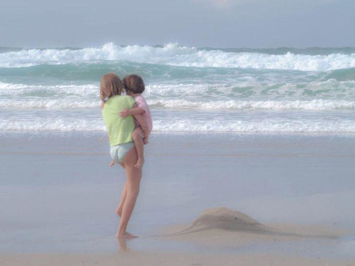 Praia, praia...