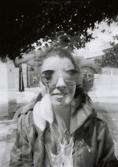 Girl Roomate Friends Summer Strange Photography Twice Holga Blackandwhite Holidays