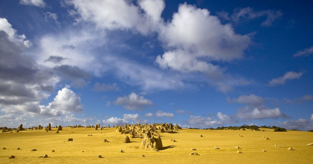 The Pinnacles, Australia Australia Pinnacles National Park The Pinnacles Beauty In Nature Cloud - Sky Field Landscape Nature No People Scenics Sky Tranquil Scene Tranquility