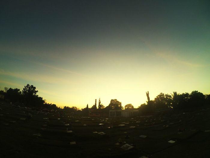 Cemetery Sunset First Eyeem Photo