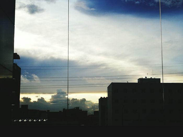 nubes Bogotá