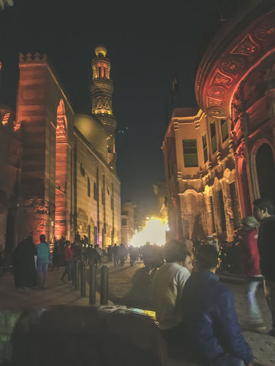 Adult Adults Only Al Muizz Street City Islamic Architecture Islamic Art Islamic Cairo Islamic Calligraphy Islamic Walk Large Group Of People Men Mosque Night Nightphotography Outdoors People Streetphotography