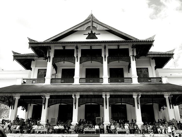 Kedaton Kutai Kartanegara. Architecture_bw Monochrome EyeEm Indonesia
