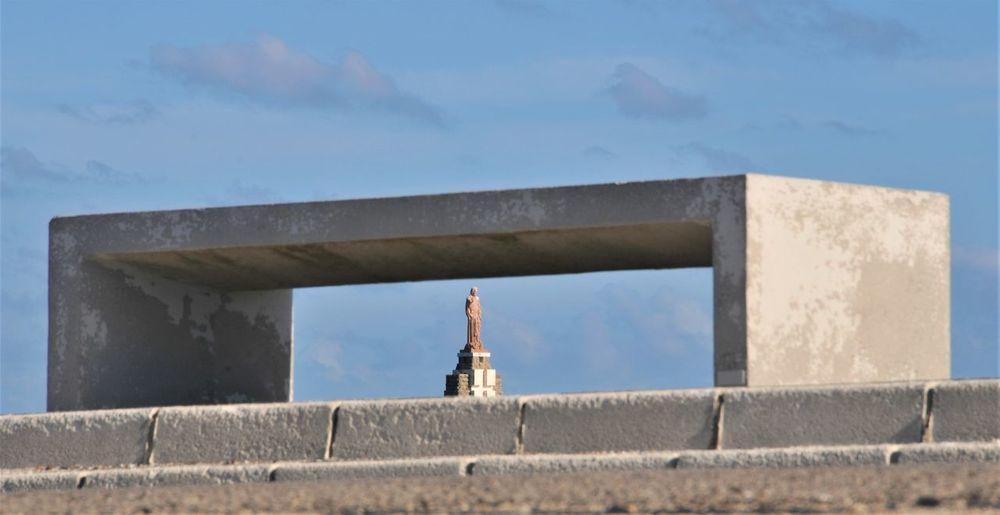 Built structure against sky